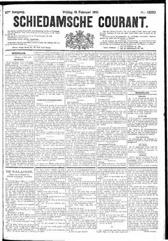 Schiedamsche Courant 1910-02-18