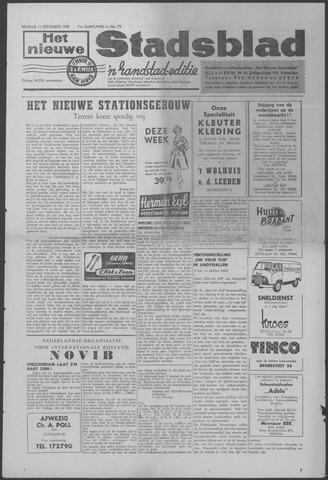 Het Nieuwe Stadsblad 1959-09-11