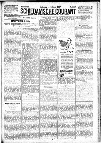 Schiedamsche Courant 1927-10-15