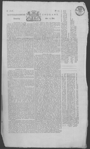 Rotterdamse Courant 1826-05-13