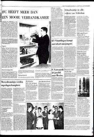 Rotterdamsch Nieuwsblad / Schiedamsche Courant / Rotterdams Dagblad / Waterweg / Algemeen Dagblad 1968-08-17