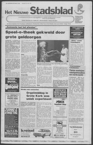 Het Nieuwe Stadsblad 1981-06-26