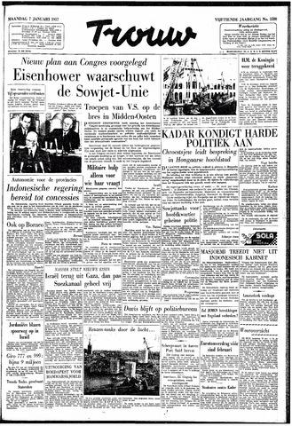 Trouw / De Rotterdammer 1957-01-07