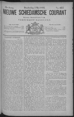 Nieuwe Schiedamsche Courant 1892-05-05