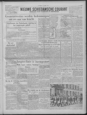 Nieuwe Schiedamsche Courant 1949-04-23