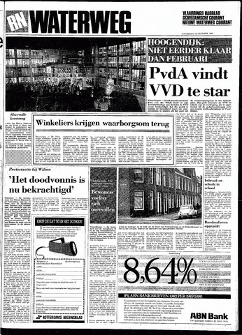 Rotterdamsch Nieuwsblad / Schiedamsche Courant / Rotterdams Dagblad / Waterweg / Algemeen Dagblad 1983-12-22