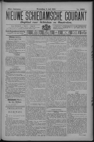 Nieuwe Schiedamsche Courant 1913-07-09