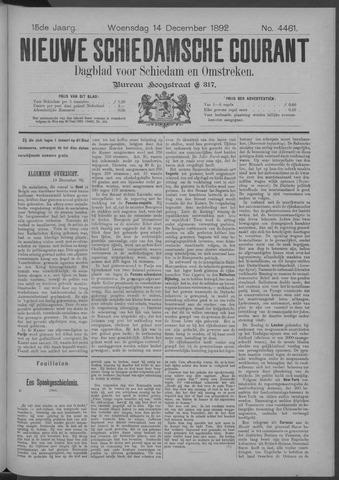 Nieuwe Schiedamsche Courant 1892-12-14
