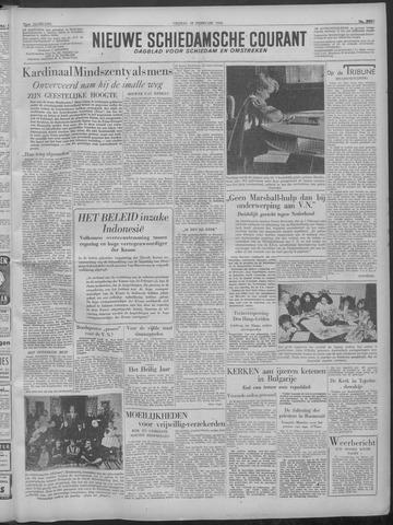 Nieuwe Schiedamsche Courant 1949-02-18