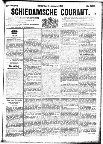 Schiedamsche Courant 1916-08-10