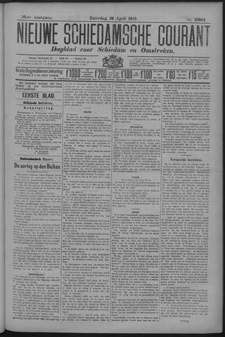Nieuwe Schiedamsche Courant 1913-04-19