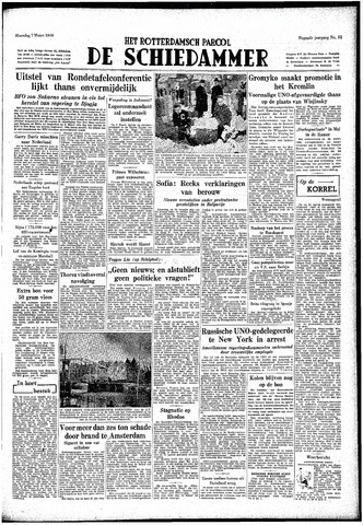 Rotterdamsch Parool / De Schiedammer 1949-03-07