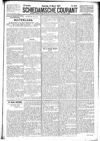 Schiedamsche Courant 1927-03-12