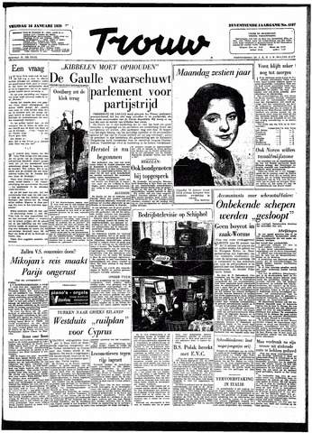 Trouw / De Rotterdammer 1959-01-16
