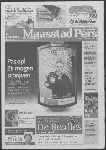 Maaspost / Maasstad / Maasstad Pers 2010-11-24