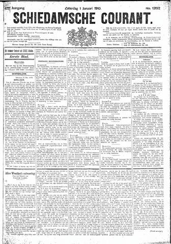 Schiedamsche Courant 1910-01-01