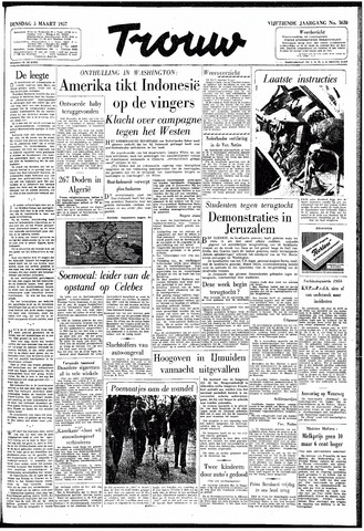 Trouw / De Rotterdammer 1957-03-05