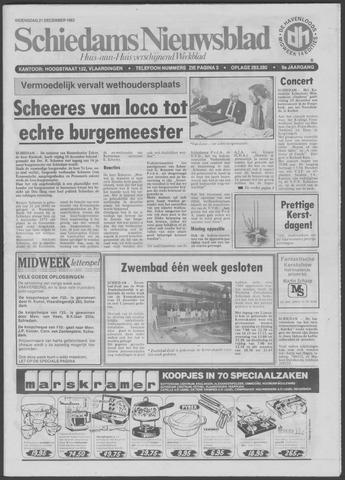 Schiedams Nieuwsblad 1983-12-21