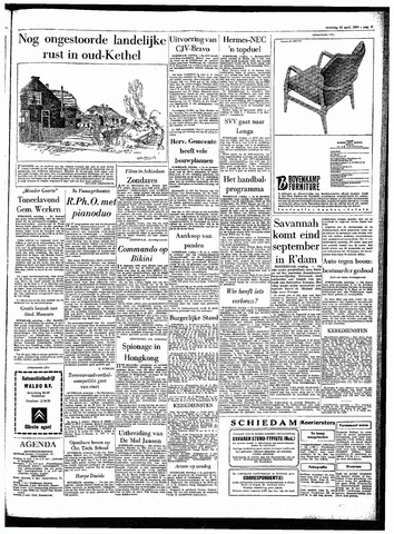 Rotterdamsch Parool / De Schiedammer 1964-04-25