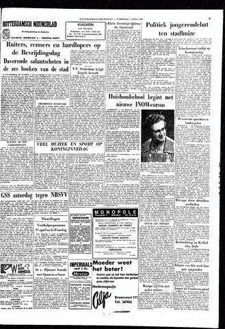 Rotterdamsch Nieuwsblad / Schiedamsche Courant / Rotterdams Dagblad / Waterweg / Algemeen Dagblad 1965-04-07