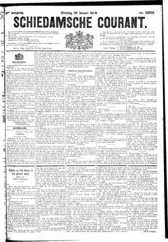 Schiedamsche Courant 1908-01-28