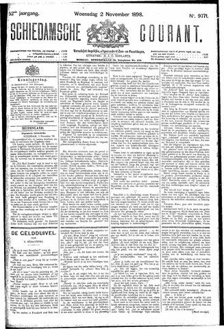 Schiedamsche Courant 1898-11-02
