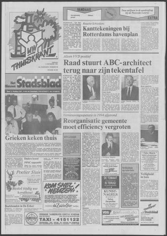 Het Nieuwe Stadsblad 1991-12-06