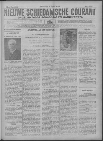 Nieuwe Schiedamsche Courant 1929-03-06