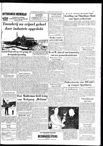 Rotterdamsch Nieuwsblad / Schiedamsche Courant / Rotterdams Dagblad / Waterweg / Algemeen Dagblad 1966-02-23