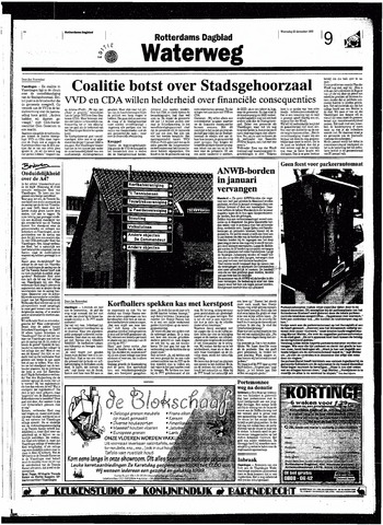 Rotterdamsch Nieuwsblad / Schiedamsche Courant / Rotterdams Dagblad / Waterweg / Algemeen Dagblad 1998-12-23