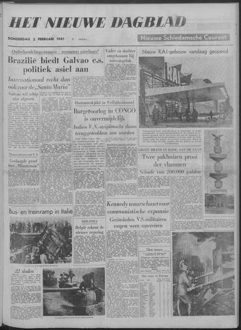 Nieuwe Schiedamsche Courant 1961-02-02