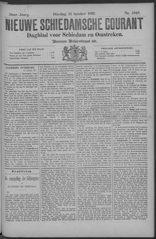Nieuwe Schiedamsche Courant 1897-10-12