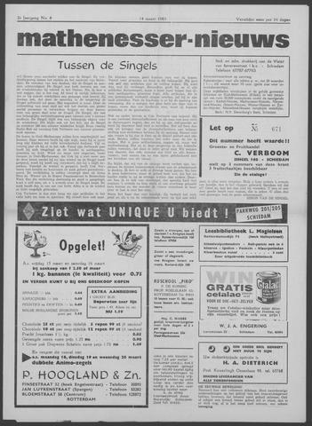 Mathenesser Nieuws 1963-03-14
