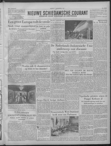 Nieuwe Schiedamsche Courant 1949-09-09