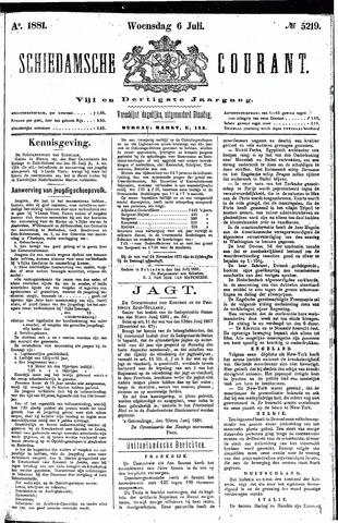 Schiedamsche Courant 1881-07-06