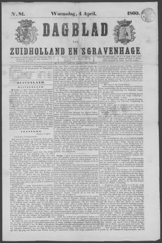 Dagblad van Zuid-Holland 1860-04-04