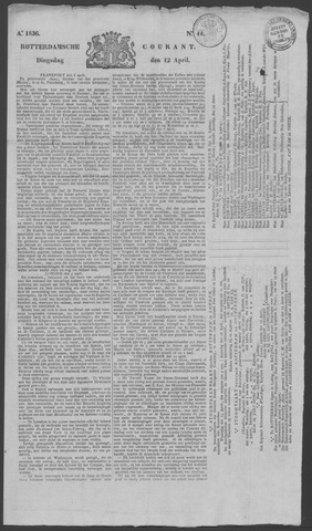Rotterdamse Courant 1836-04-12