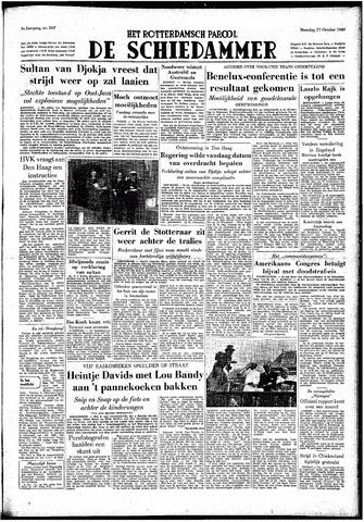 Rotterdamsch Parool / De Schiedammer 1949-10-17
