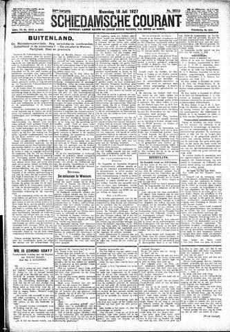 Schiedamsche Courant 1927-07-18