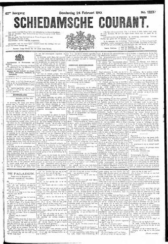 Schiedamsche Courant 1910-02-24