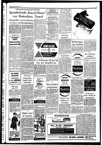 Rotterdamsch Parool / De Schiedammer 1961-09-15