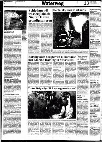 Rotterdamsch Nieuwsblad / Schiedamsche Courant / Rotterdams Dagblad / Waterweg / Algemeen Dagblad 1991-11-26