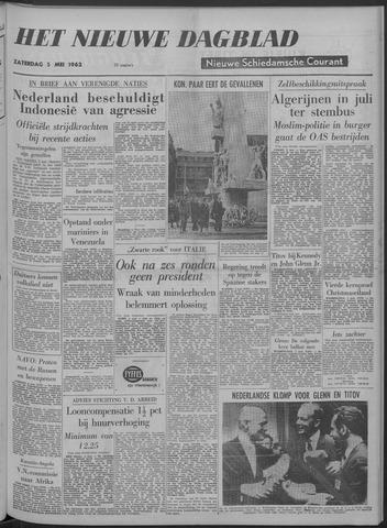 Nieuwe Schiedamsche Courant 1962-05-05