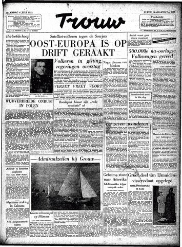 Trouw / De Rotterdammer 1953-07-06