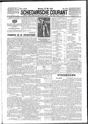 Schiedamsche Courant 1933-05-22