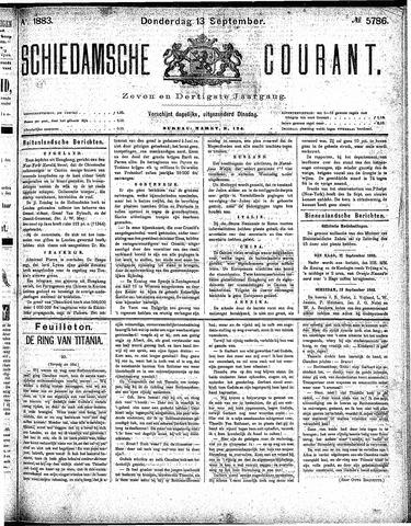 Schiedamsche Courant 1883-09-13