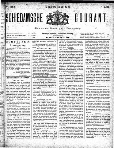 Schiedamsche Courant 1883-06-21