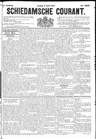 Schiedamsche Courant 1910-04-03