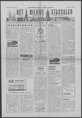 Het Nieuwe Stadsblad 1959-02-25