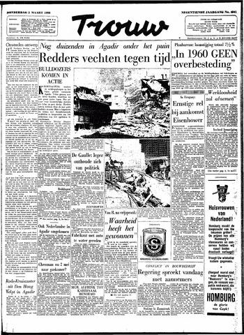 Trouw / De Rotterdammer 1960-03-03
